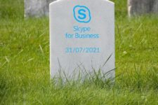 Goodbye Skype for Business